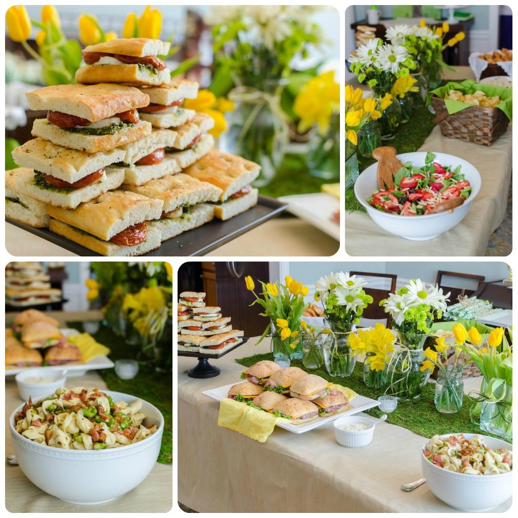 Christening Luncheon Menu Ideas | myideasbedroom.com