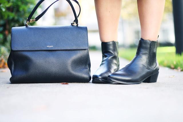 YSL bag, Saint Laurent, Senso Boots, fashion, blogger