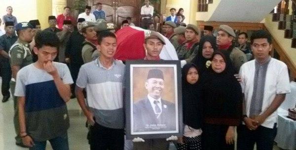 Mardison Desak Gerindra Kirim Nama Pimpinan DPRD Pengganti Jhon Edwar