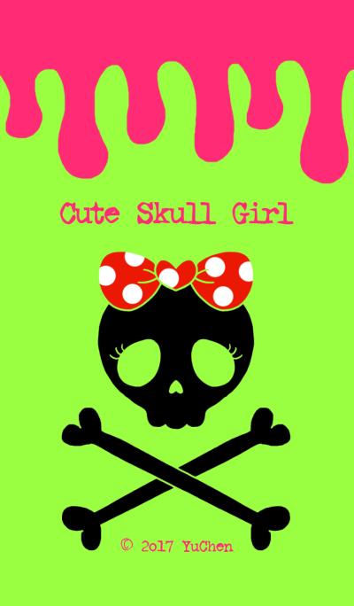 Cute Skull Girl 2