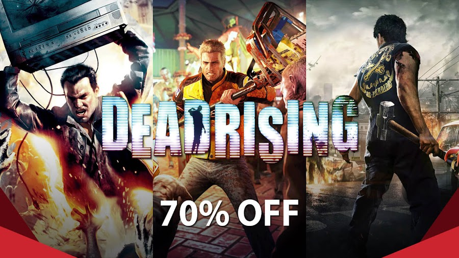 dead rising trilogy halloween sale humble bundle