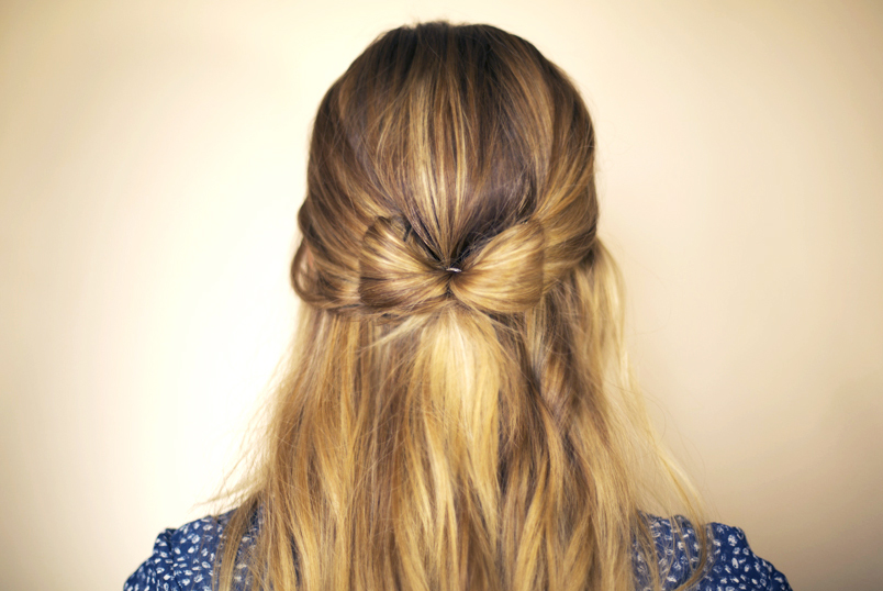 Cool Hair And Make Up By Steph How To Hair Bow Short Hairstyles Gunalazisus