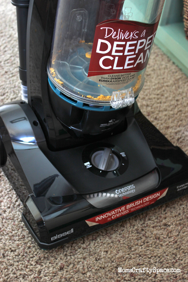 Product Review Bissell Cleanview Vacuum With Onepass