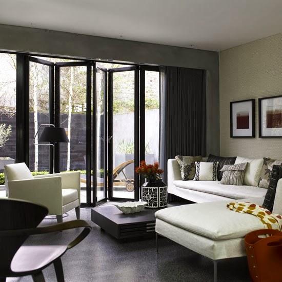 Hogares frescos salas de estar de planta abierta 10 de for Cocina de planta abierta sala de estar