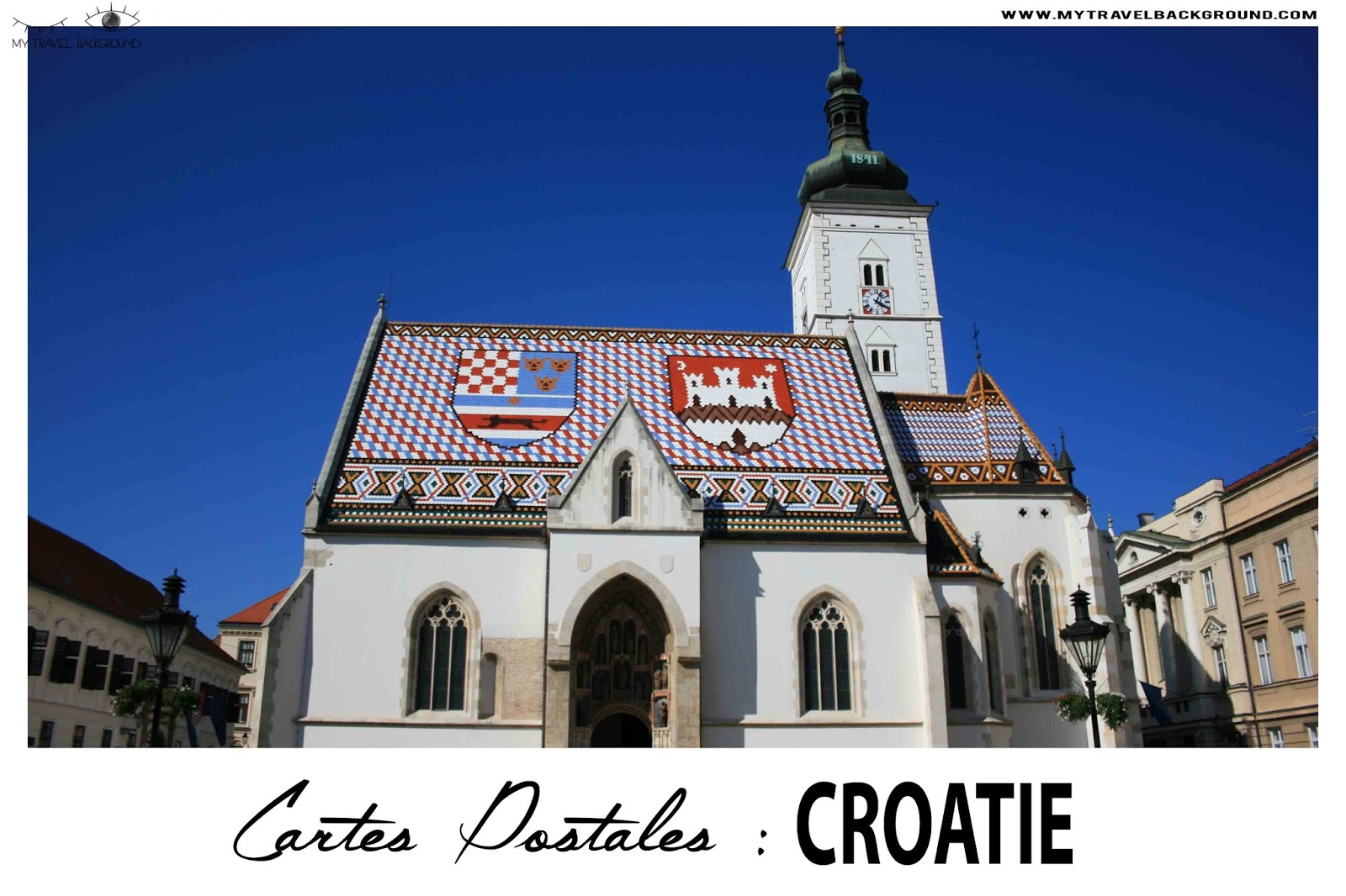 My Travel Background : cartes postales de Croatie