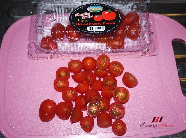 thygrace marketing healthy snacks honey cherry tomatoes recipe