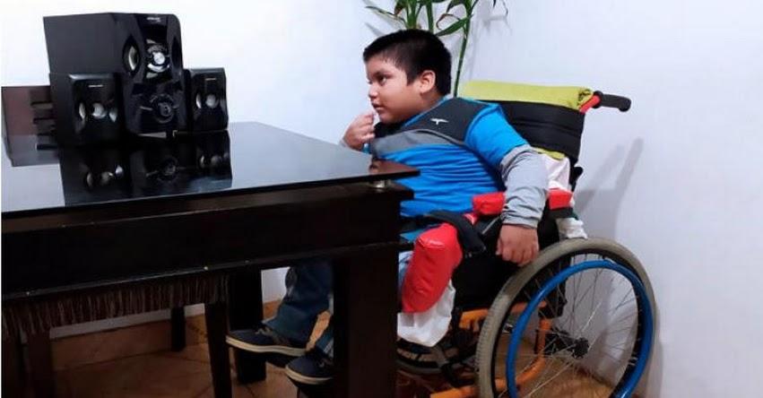 «Aprendo En Casa» también llega a estudiantes con necesidades educativas especiales asociadas a discapacidad