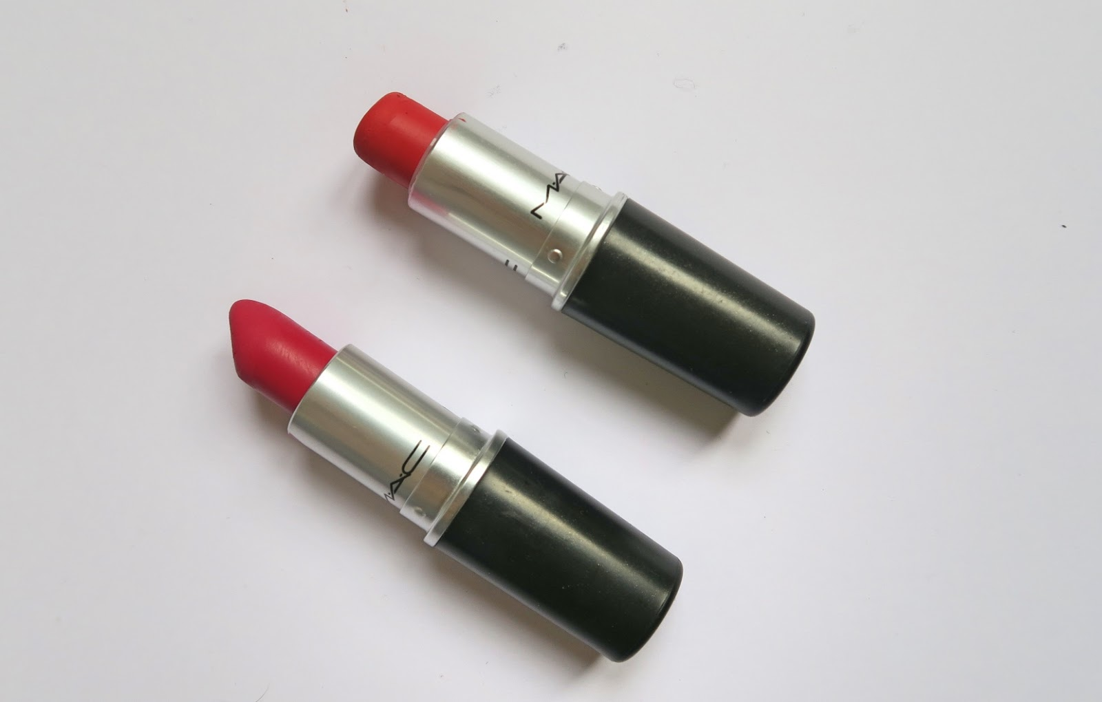 MAC Dangerous and All Fired Up Retro Matte Lipstick