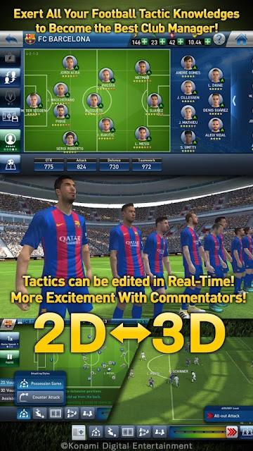 PES Club Manager Football Games Android
