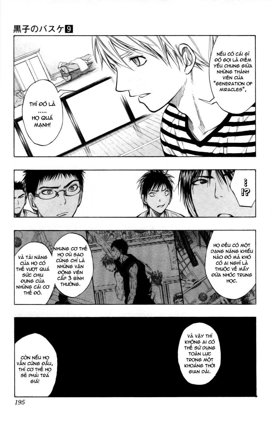 Kuroko No Basket chap 080 trang 9