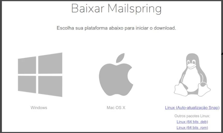 Mailspring um cliente de e-mail bonito e moderno - Diolinux - O modo