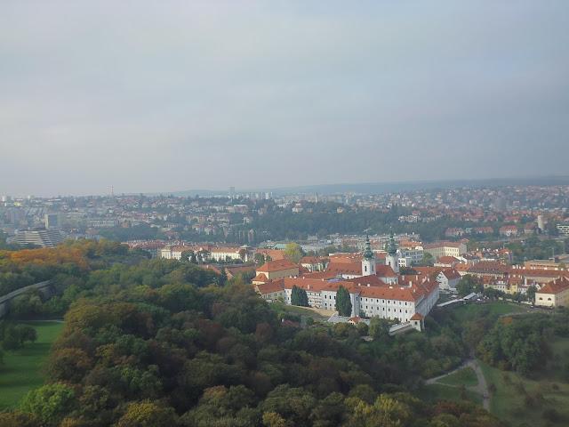 Vistas desde la Torre de Petřín (Praga) (@mibaulviajero)