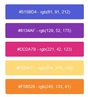 instagram renk kodları