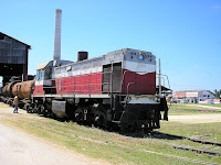 Diesel electric with tank train, Marcelo Salado, Remedios, Cuba