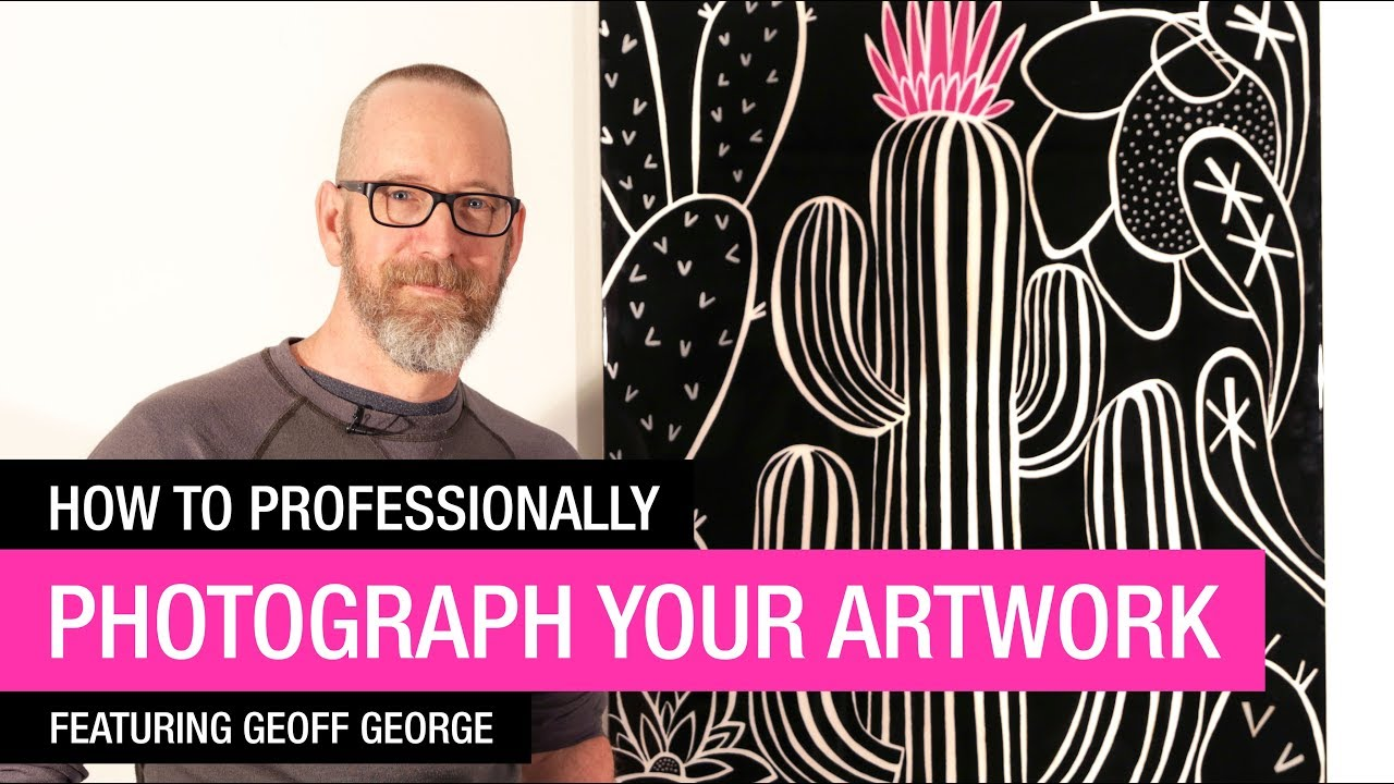 How to Professionally Photograph your Artwork