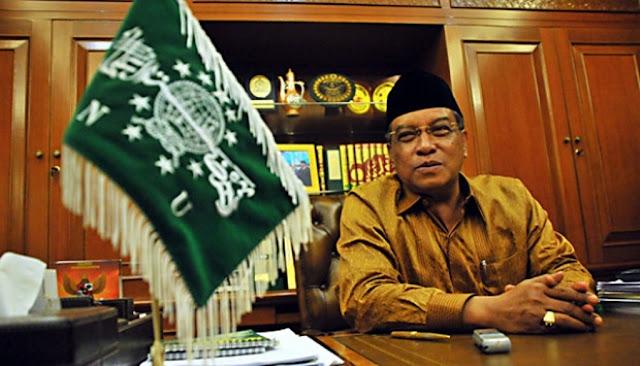 KH Said aqil Siradj: NU Didirikan bukan Untuk Berdemo