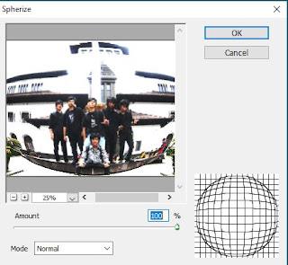 Cara Membuat Efek Foto Lonjong Dengan Photoshop Cara Membuat Efek Foto Lonjong Dengan Photoshop