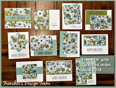 Customer Appreciation, Free, One Sheet Wonder, Stampin'UP!