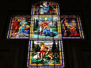 Vitral da Igreja São João, São João do Polêsine (RS)