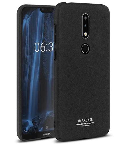 Hardcase + Ring Holder Imak - Nokia 6.1 Plus Original
