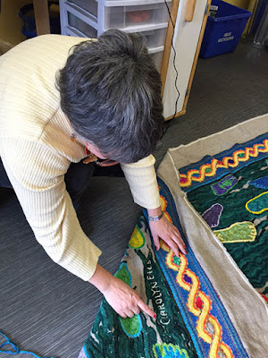 Rug Hooking Technique