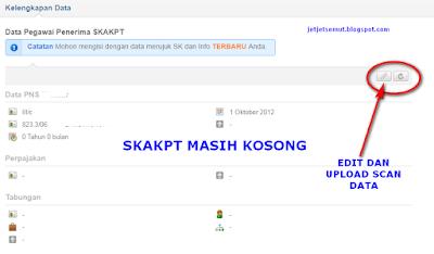 upload data scan file di simpatika SKAKPT cara mengisi SKAKPT