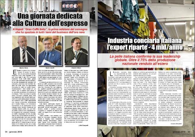 GEN 2018 PAG 55 - Industria conciaria italiana  l'export riparte – 4 mld/anno