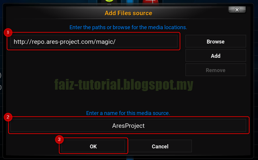 how to add ares repo