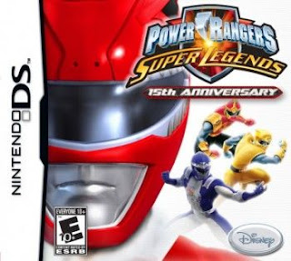 Power Rangers: Super Legends, NDS, Español, Mega, Mediafire