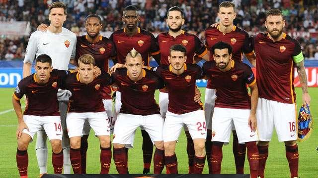 Skuad Roma di Piala Eropa