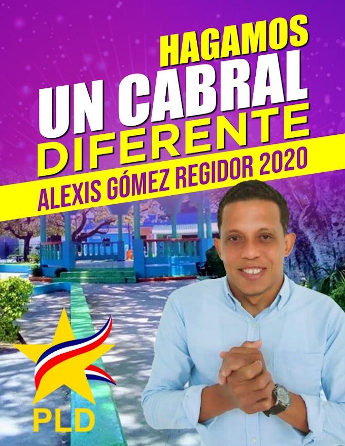 Alexis Gómez Lanza su pre candidatura a Regidor por el municipio de Cabral