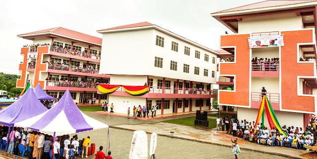 President Mahama inaugurates Abodoman Community SHS