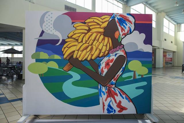 Alexis Oviedo. Raíces Campestres, mural. 2016