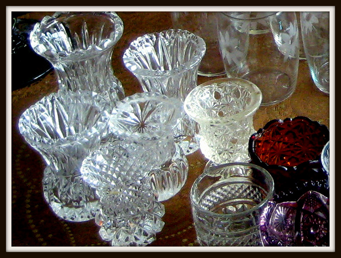 There Are Many Cut Crystal Toothpick Holders In A Variety Of Shapes And Designs You Can Find Them At Most Flea Markets Or Antique S