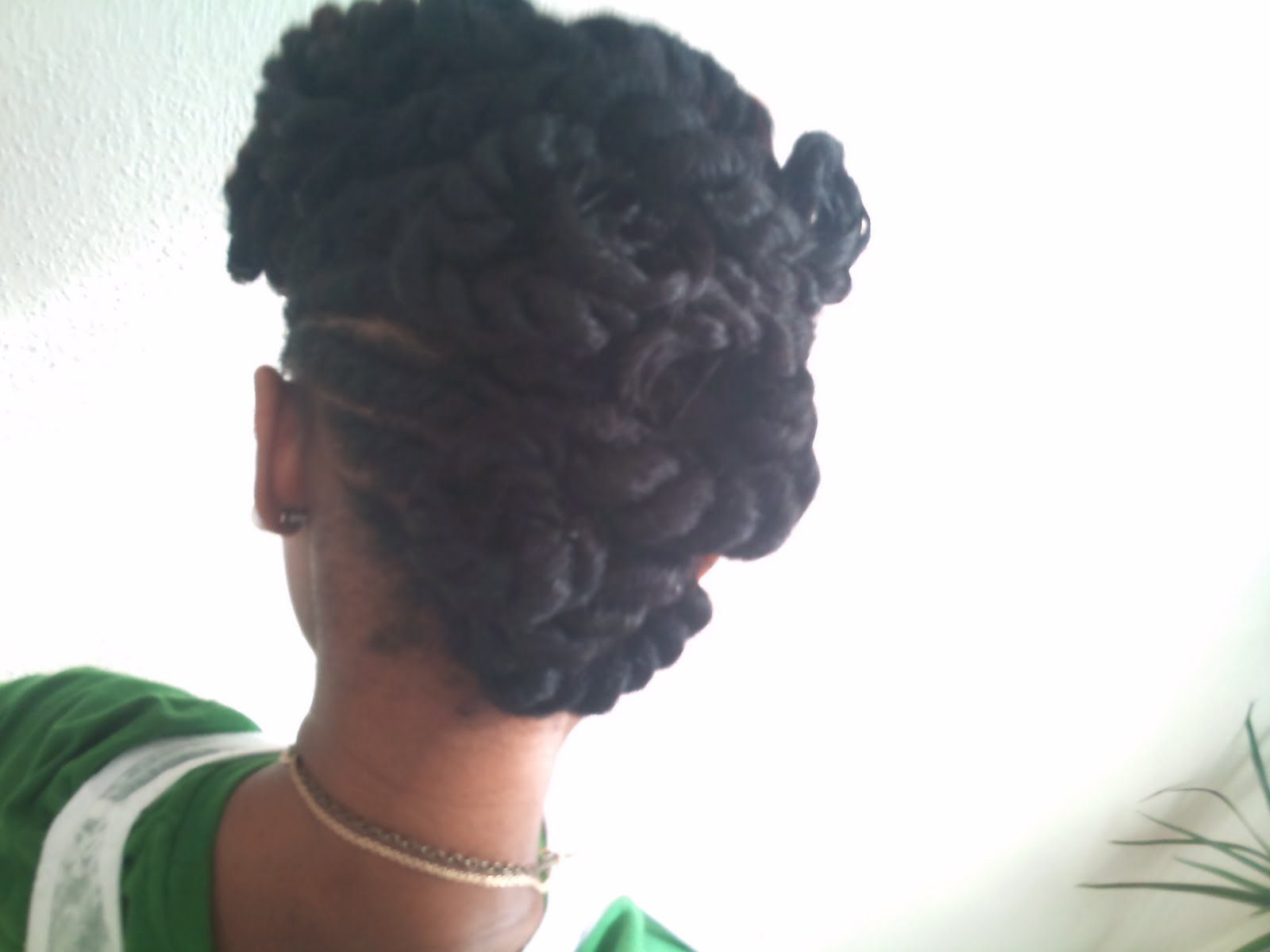Dont Get it Twisted Natural Hair Updo  CurlyNikki  Natural Hair Care