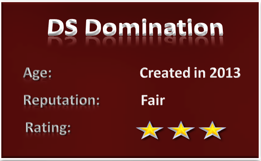 DS Domination scam review rating