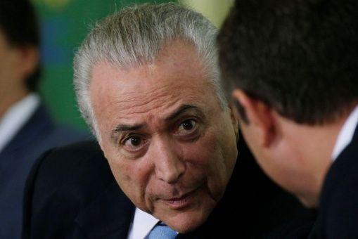 """Defensa de Temer afirma que informe de la Policía es """"precario"""""""