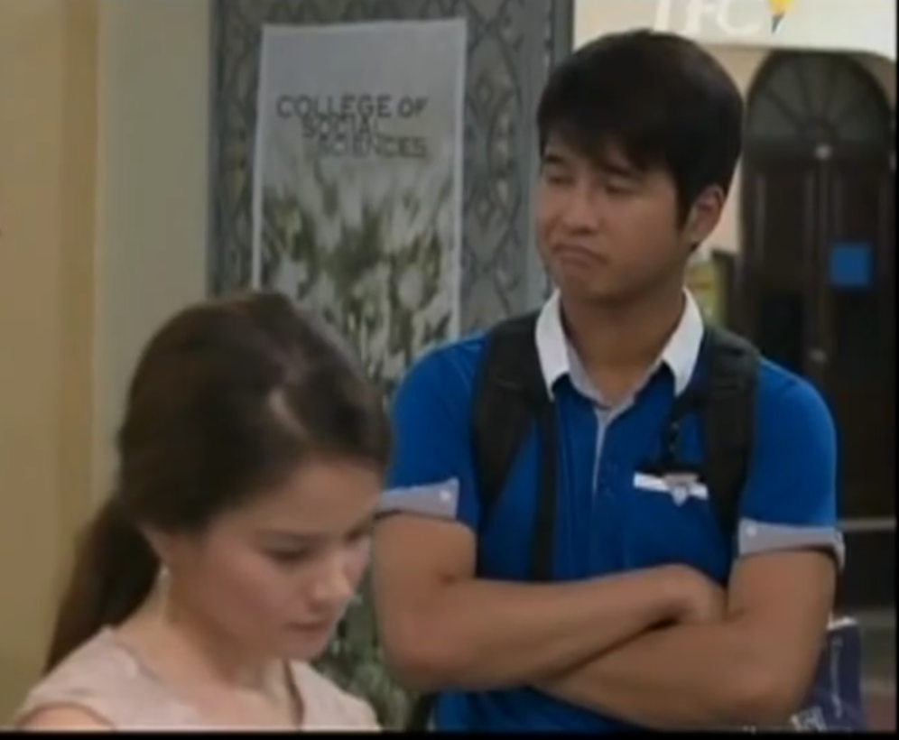 Jerome Ponce and Elisse Joson