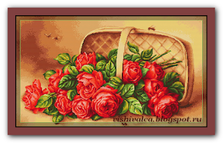 "Luca-S G499 ""Корзина с розами"""