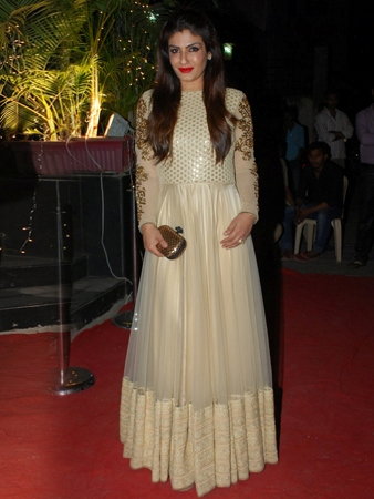 Raveena Tandon in Vikram Phadnis Anarkali Suit