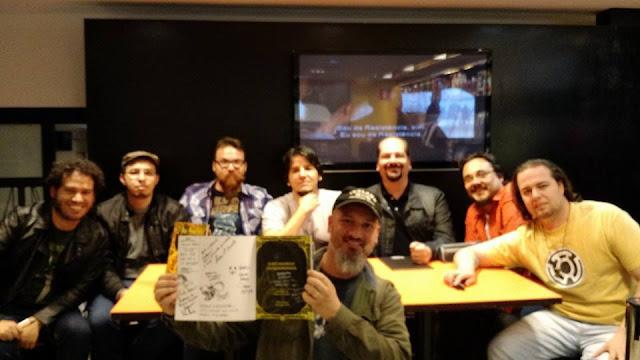 Autores da HQ O Rei de Amarelo em Quadrinhos