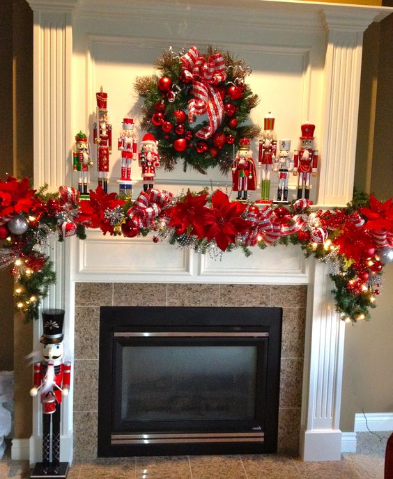 Christmas mantles decorations ideas holidays blog for you for B m christmas decorations