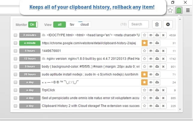 Clipboard History 2 - Επαναφέρετε όλο το ιστορικό των κειμένων που αντιγράψατε στο clipboard των Windows