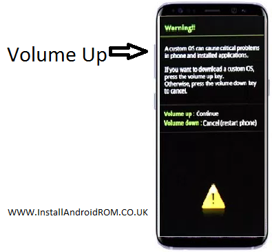 Volume Up To Enter Download Mode