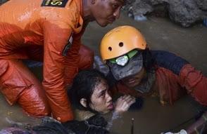 Un total de 832 muertes confirmadas por sismo y tsunami en Indonesia