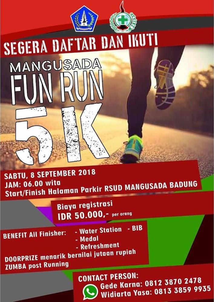Mangusada Fun Run • 2018