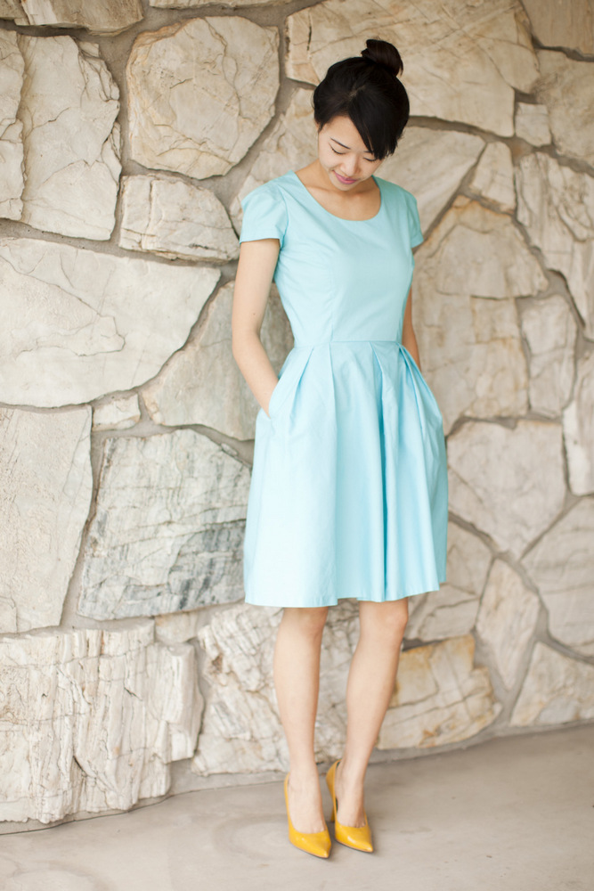DIY: Tiffany Blue Dress. | Life is Beautiful