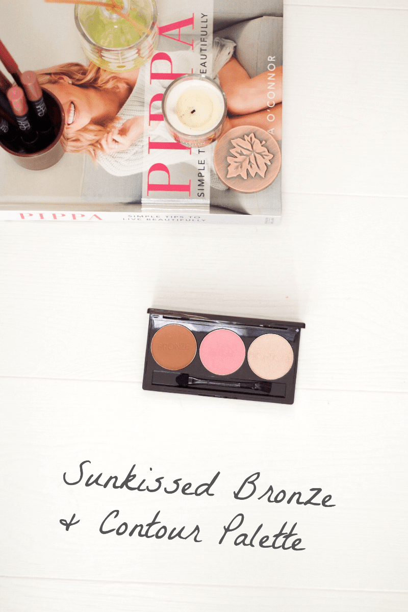 Sunkissed Bronze & Contour Palette Review