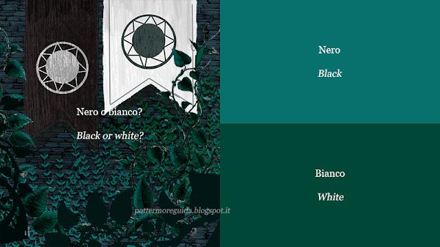 Nero o bianco?
