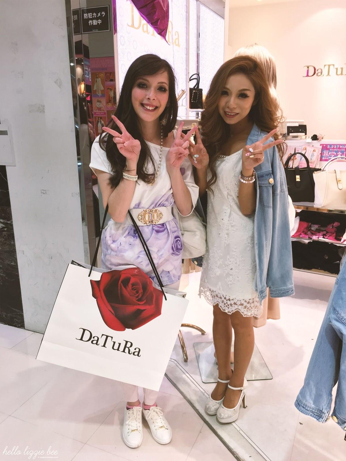 DaTuRa Shibuya109 shop staff